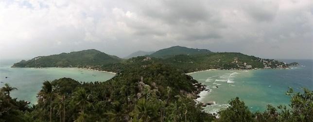 Vista de Ko Tao desde el mirador de John-Sewan