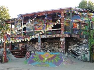 Skate Park en Christiania