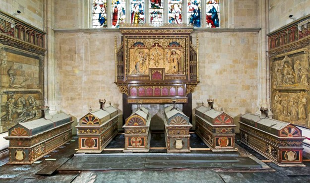 Mortuary Chests in Lady Chapel