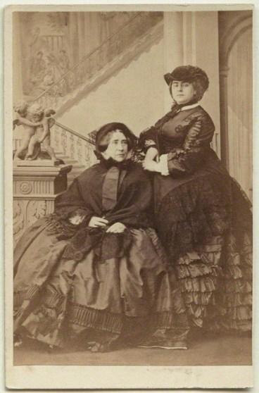 by Camille Silvy, albumen carte-de-visite, 9 October 1860