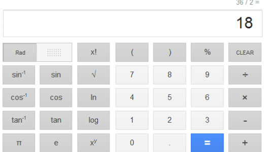 google calculator - unpocogeek.com