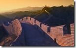  (Great Wall at Sunset, China)