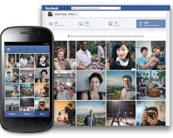 Facebook prueba la subida automática de Fotos en móviles Android