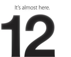 Apple confirma un evento especial el 12 de Septiembre