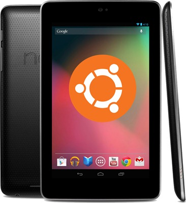Nexus-7 with ubuntu - unpocogeek.com