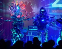Z-Machines una banda compuesta por robots