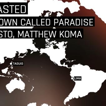 Mapa que nos muestra cuando dos personas escuchan el mismo tema en Spotify al mismo tiempo