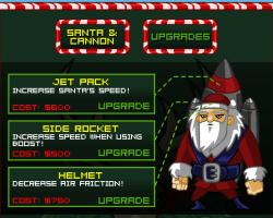 El juego de hoy… Rocket Santa 2
