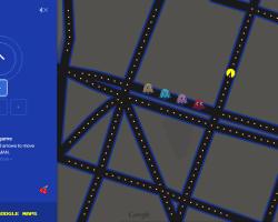 ¡A jugar Pac-Man en Google Maps!