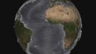 La tierra sin oceanos