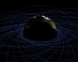 Objetos en órbita alrededor de la tierra, miralo en tiempo real