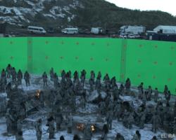Los VFX de la batalla con los caminantes blancos en la última temporada de GoT