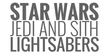 Los sables láser en el universo Star Wars