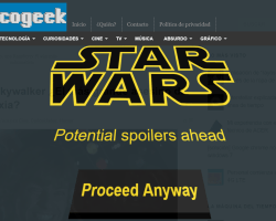 Extensión de Chrome para evitar spoilers de Star Wars The Force Awakens