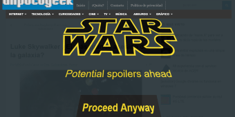 Extensión de Chrome para evitar spoilers de Star Wars The Force Awakens