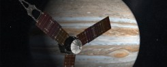 La nave espacial Juno ya orbita Júpiter