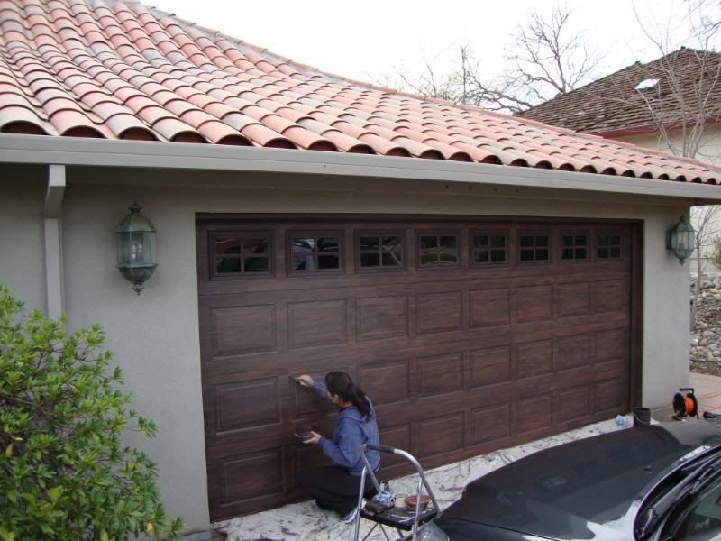 Gallery unreal garage doors for Garage that looks like a house