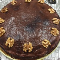 Tarta de Chocolate con Nueces