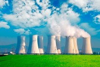 Steam Clean Nuclear Energy power plant