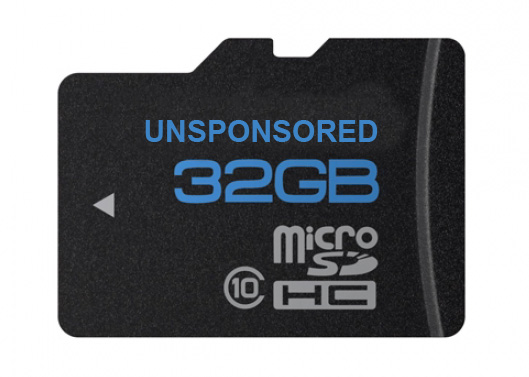 press best micro sd memory card for the gopro