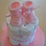 DIY facile de Diaper Cake (gâteau de couches)