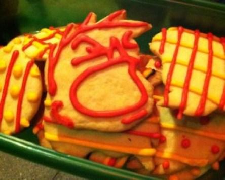 Screaming Henry cookies