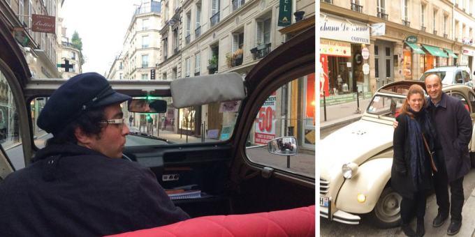 Paris 2CV style