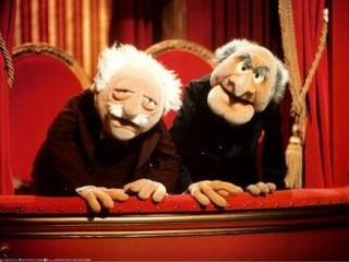 Hecklers Statler and Waldorf