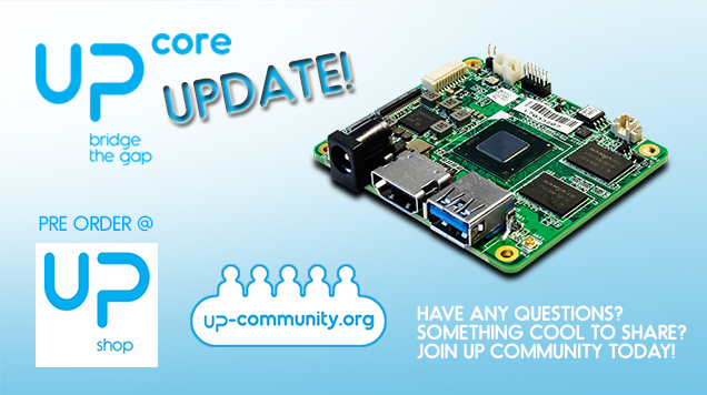 UP Core update 1