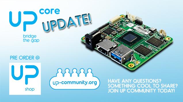 UP Core update 1