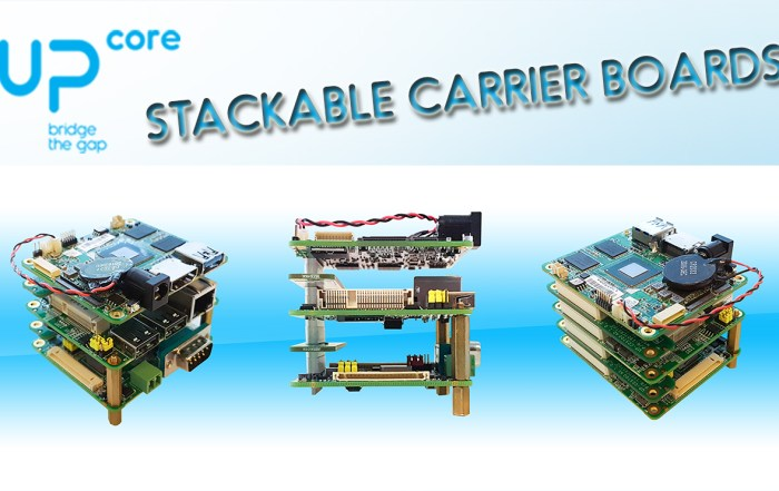 Stackable Carrier Boards