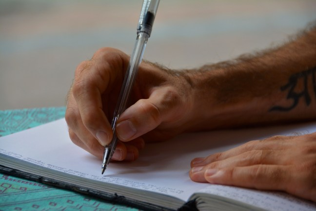 hands-writing-diary-journal-159774