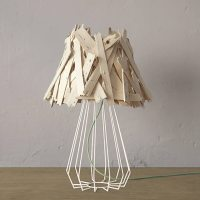 PALITOS: fruit crate lamp by Sergio Mendoza
