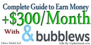 Earn-money-with-bubblew