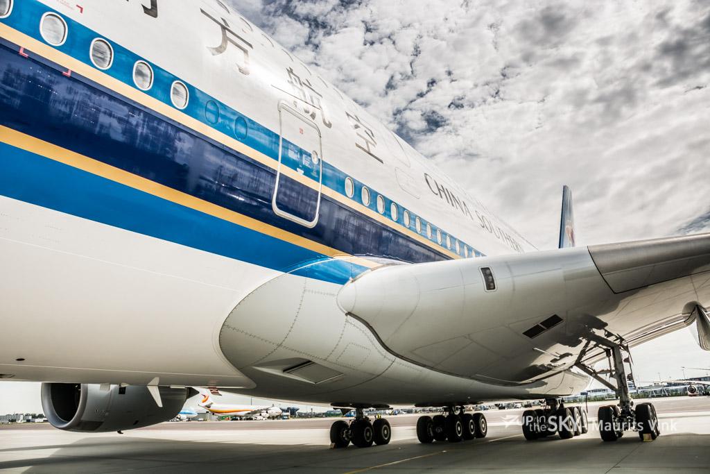China Southern A380 vanaf volgende maand niet meer op Schiphol - Update