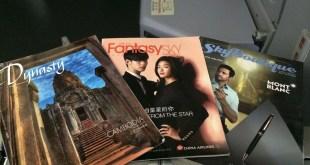 Inflight magazines van China Airlines (c) KCS