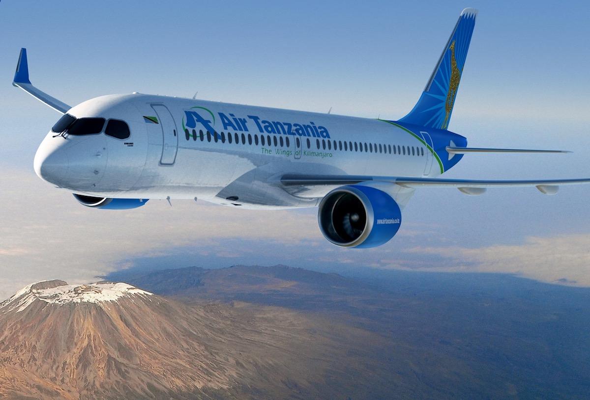 Air Tanzania bestelt Bombardiers