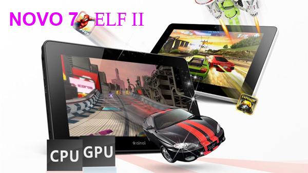 Ainol Novo 7 Elf II 7 Inch HD Screen Cortex A9 Dual Core ...