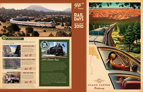 17 Great Travel Brochure Examples Fit for Globetrotters   UPrinting All rights reserved by SR Martin