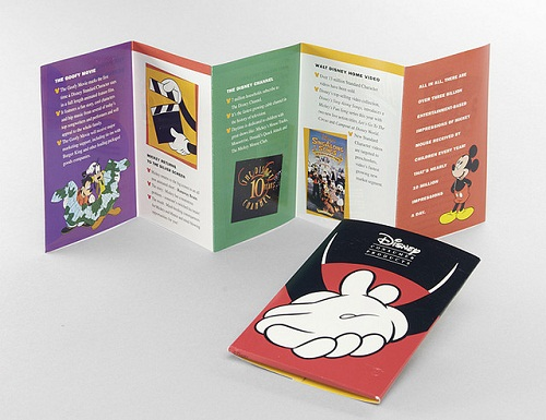 17 Great Travel Brochure Examples Fit for Globetrotters   UPrinting Disneyland