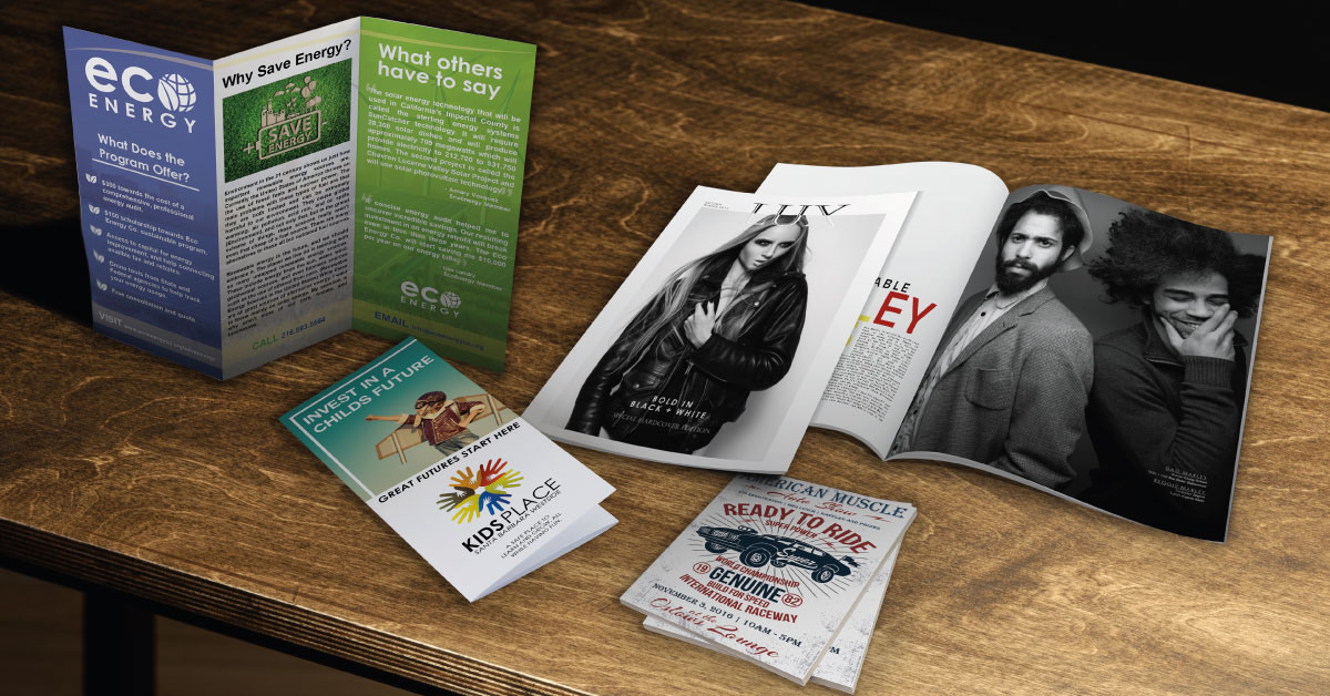 The Difference Between Flyers and Leaflets   and More UPrinting