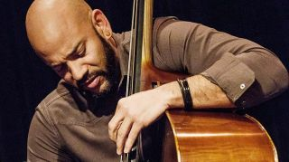Eric Revis playing his Upton Bass Brescian model upright bass