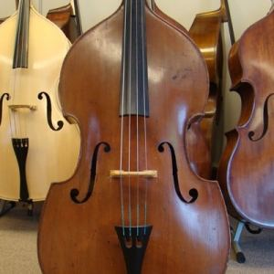 "SOLD! Alfons Vavra Czech ""Flat-Back"" Double Bass"