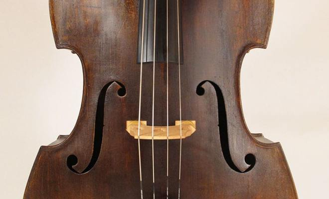 SOLD: Juzek Double Bass c1920