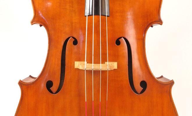 Wenzl B. Wilfer Double Bass 1965 Germany