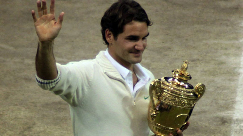 Federer suffers from common tennis injuries
