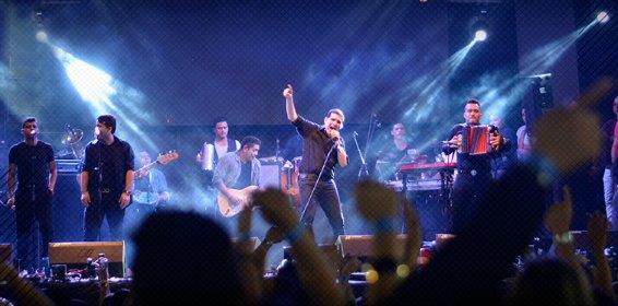 La primera gira del año de Peter Manjarrés se convirtió en un acontecimiento