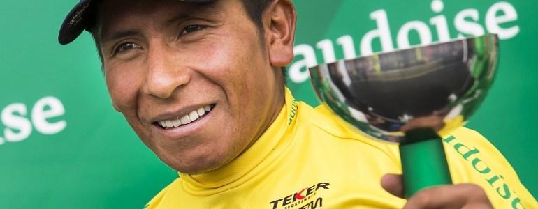 Nairo Quintana asciende a la segunda posición de la UCI