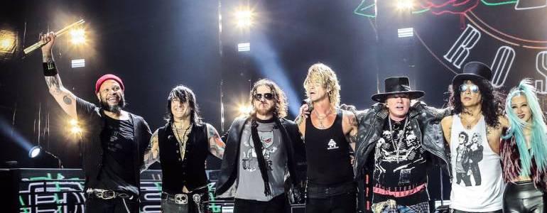 Guns N´ Roses visitará Medellín en noviembre