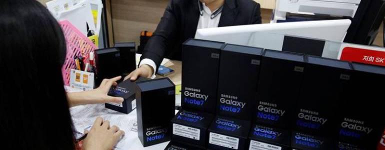 Samsung comienza a entregar los nuevos Note 7
